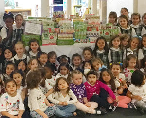 Students Celebrate 100 Days of School By Supporting Local Children in Need