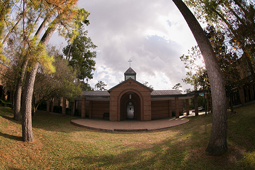 Chapel building at Duchesne