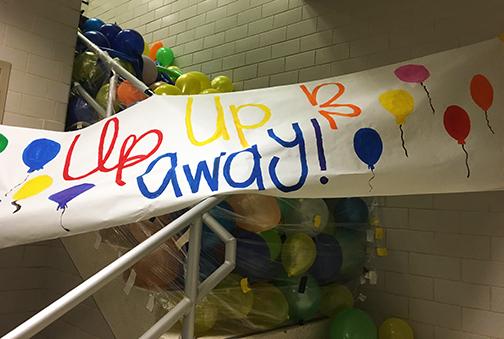 Classroom Prank Ideas ~ Smiles across campus thanks to senior pranks news item
