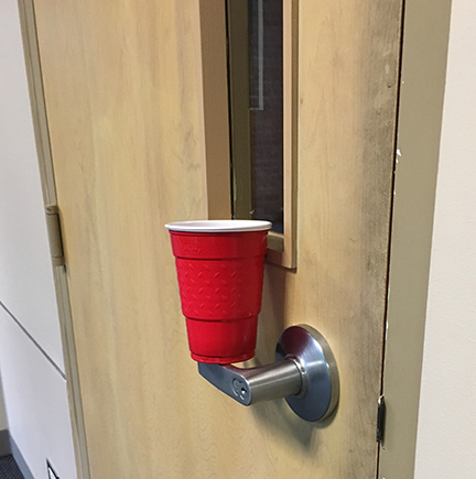 ... the door to the Upper School Office and carefully placed on Upper School classroom door handles. There is a little cleaning up to do but the pranks ... & Smiles Across Campus Thanks to Senior Pranks | News Item - Duchesne ...